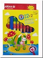 خرید کتاب پاستل روغنی 12+2 رنگ آریا از: www.ashja.com - کتابسرای اشجع