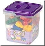خرید کتاب لگو  سطلی 45 قطعه - آجره از: www.ashja.com - کتابسرای اشجع