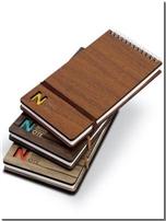 خرید کتاب دفتر یادداشت چوبی خبرنگاری - 3136 از: www.ashja.com - کتابسرای اشجع