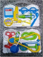 خرید کتاب بازی دکتر شیم - وسایل دکترها برای کودکان از: www.ashja.com - کتابسرای اشجع