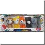 خرید کتاب عروسک های انگشتی - حیوانات وحشی از: www.ashja.com - کتابسرای اشجع
