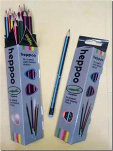 کتاب 12 عدد مداد مشکی هیپو پاک کن دار - بسته 12 تایی مداد مشکی - خرید کتاب از: www.ashja.com - کتابسرای اشجع