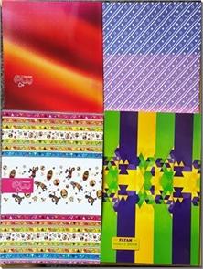 کتاب دفتر یک خط 50 برگ - بسته بندی سه تایی با طرح جلد متنوع - خرید کتاب از: www.ashja.com - کتابسرای اشجع