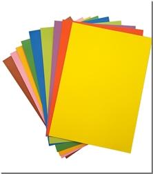 کتاب مقوای رنگی - ببسته 10 تایی مقوای رنگی - خرید کتاب از: www.ashja.com - کتابسرای اشجع