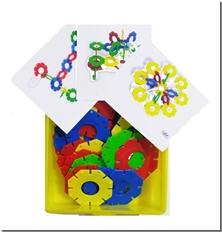 کتاب گل ستاره - چفتو ستاره ای - لگو ستاره ای - خرید کتاب از: www.ashja.com - کتابسرای اشجع