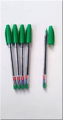 کتاب 3 عدد خودکار سبز تریکون - خودکار ایرانی نوک 1mm - خرید کتاب از: www.ashja.com - کتابسرای اشجع
