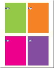 کتاب دفتر 100 برگ سیمی الوان - دفتر در رنگ های مختلف - خرید کتاب از: www.ashja.com - کتابسرای اشجع