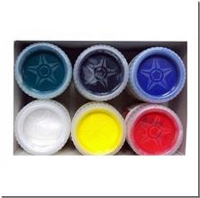 کتاب گواش 6 رنگ آرتین - گواش در 6 رنگ مختلف - خرید کتاب از: www.ashja.com - کتابسرای اشجع