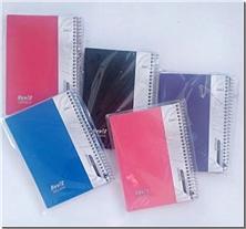 کتاب دفتر یادداشت یک خط سیمی 100 برگ - دفتر یادداشت شیک و کاربردی سیمی - خرید کتاب از: www.ashja.com - کتابسرای اشجع
