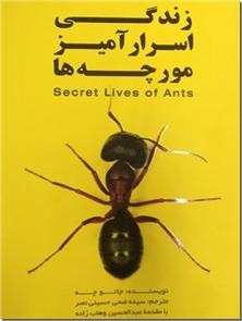 کتاب زندگی اسرارآمیز مورچه ها - آشنایی با زندگی مورچه ها - خرید کتاب از: www.ashja.com - کتابسرای اشجع
