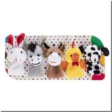 کتاب عروسک های انگشتی - حیوانات اهلی - عروسک های پارچه ای انگشتی - خرید کتاب از: www.ashja.com - کتابسرای اشجع
