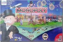 کتاب بازی فکری مونوپولی Monopoly - بازی های فکری کارتی - خرید کتاب از: www.ashja.com - کتابسرای اشجع