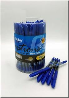 کتاب 3 عدد خودکار آبی پنتر 0.7 میلمتری semi gel - بسته 3 تایی خودکار آبی - خرید کتاب از: www.ashja.com - کتابسرای اشجع