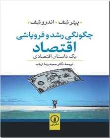 کتاب چگونگی رشد و فروپاشی اقتصاد - یک داستان اقتصادی - خرید کتاب از: www.ashja.com - کتابسرای اشجع