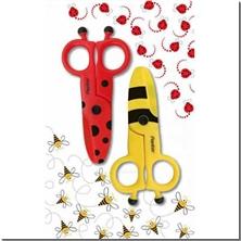 کتاب قیچی کودکان حشرات پنتر - قیچی مناسب برای کودکان - خرید کتاب از: www.ashja.com - کتابسرای اشجع