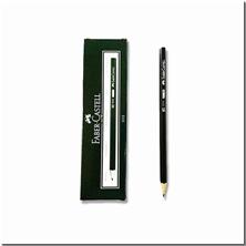 کتاب 12 عدد مداد مشکی فابر کاستل - بسته 12 تایی مداد مشکی - خرید کتاب از: www.ashja.com - کتابسرای اشجع