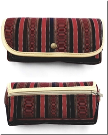 کتاب جامدادی - کد 1933 - مناسب برای لوازم تحریر و لوازم آرایش در طرح های سنتی و اسپرت - خرید کتاب از: www.ashja.com - کتابسرای اشجع