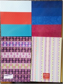 کتاب دفتر یک خط 100 برگ - جلد ساده در طرح های مختلف - خرید کتاب از: www.ashja.com - کتابسرای اشجع