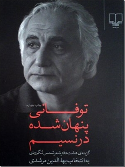 کتاب توفانی پنهان شده در نسیم - گزینه هشت دفتر شهر شمس لنگرودی - خرید کتاب از: www.ashja.com - کتابسرای اشجع