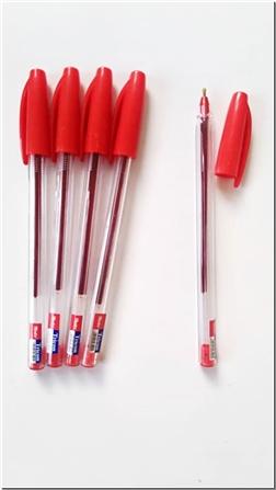 خرید لوازم التحریر بسته 3تایی خودکار قرمز - نوک 0.1 از: www.ashja.com - کتابسرای اشجع
