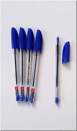 لوازم التحریر بسته 4تایی خودکار آبی - نوک 0.1 - خودکار آبی تیرکون - خرید لوازم التحریر از: www.ashja.com - کتابسرای اشجع