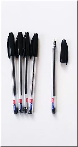 لوازم التحریر بسته 4 تایی خودکار مشکی - نوک 0.1 - خودکار مشکی تریکون - خرید لوازم التحریر از: www.ashja.com - کتابسرای اشجع