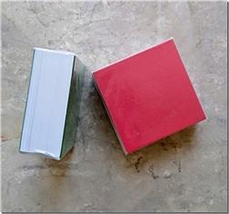 خرید لوازم التحریر بسته کاغذ یادداشت مربع 400 برگی از: www.ashja.com - کتابسرای اشجع