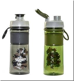 لوازم التحریر قمقمه آب ارتشی شوتای کد 0716 - قمقمه های پلاستیکی درب دار - خرید لوازم التحریر از: www.ashja.com - کتابسرای اشجع