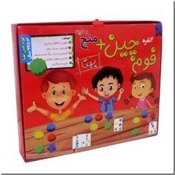خرید اسباب بازی بازی فوم چین منچ و مارپله از: www.ashja.com - کتابسرای اشجع