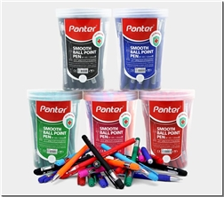 خرید لوازم التحریر خودکار رنگی پنتر نوک 1.0 از: www.ashja.com - کتابسرای اشجع