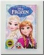 خرید کتاب 2 عدد دفتر سیمی یک خط 80 برگ - طرح السا و آنا از: www.ashja.com - کتابسرای اشجع