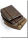 خرید کتاب دفتر یادداشت چوبی لبه دار - بزرگ از: www.ashja.com - کتابسرای اشجع