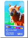 خرید کتاب مدادرنگی 12 رنگ جعبه فلزی سی کلاس از: www.ashja.com - کتابسرای اشجع